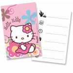 Hello Kitty Invitation Cards (pack quantity 6)