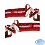 Red Laser Streamers (pack quantity 2)