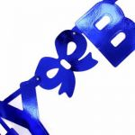 8ft Blue Giant Birthday Letter Banner
