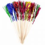 Foil Tall Palm Picks (pack quantity 30)