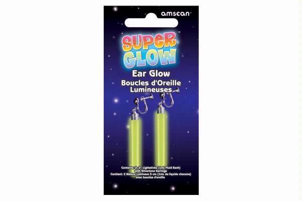5.7cm Crazy Glow Earrings