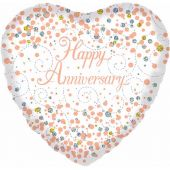 Pink Birthday 18 Inch Foil Balloon