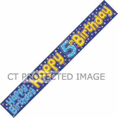 5 Today Skater 9ft Banner