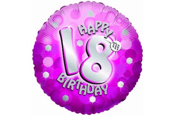 Its my 18th Birthday Party - 18inch Sparkle Pink 18th Foil Balloon ...: itsmy18thbirthday.co.uk/party-products.php/18inch-sparkle-pink-18th...