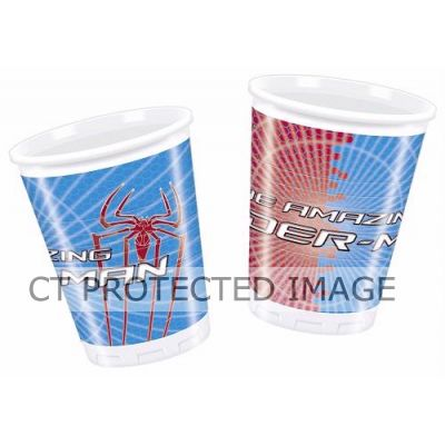 180ml Spiderman Cups (pack quantity 10)