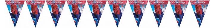 3mx25cm Spiderman Flag Banner