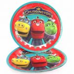 Chuggington Plates (pack quantity 8)