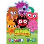 Moshi Monsters Thank You Cards (pack quantity 6)
