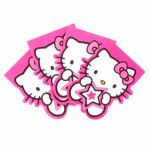 Hello Kitty Notebooks (pack quantity 4)