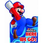 Super Mario Invitations (pack quantity 6)
