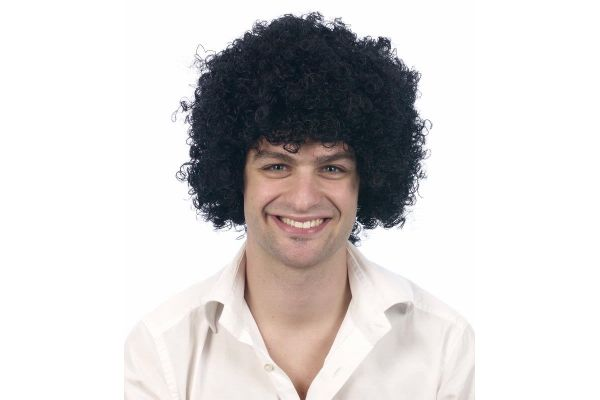 Wig Afro Black