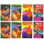 Dinosaur Notebooks In Bag (pack quantity 8)