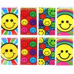 Smile Notebooks In Bag (pack quantity 8)