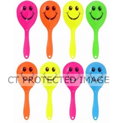 Mini Smile Maracas In Bag (pack quantity 8)