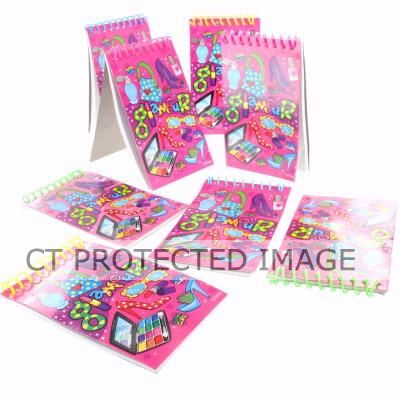  Glamour Notebooks (pack&nbsp;quantity&nbsp;8) 
