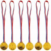 Gold Winner Medals In Bag (pack quantity 6)