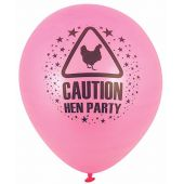  23cm Hen Party Balloons (pack&nbsp;quantity&nbsp;15) 