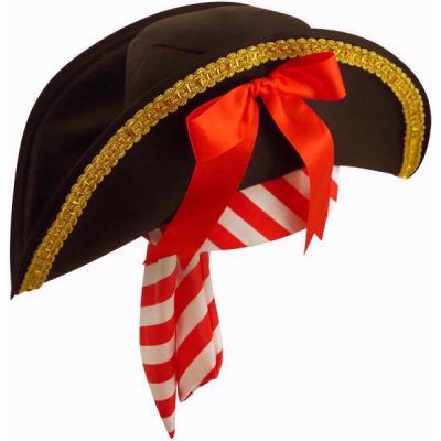 Deluxe Pirate Hat W/bandana