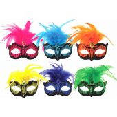 Mask Neon With Feather