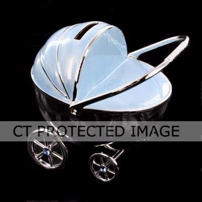 S/p Pram Money Bank Blue