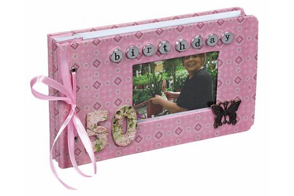 6x4 P/album 50th Birthday Girl