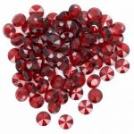 Red Large Diamantes