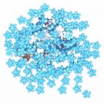 Aqua Flower Diamantes