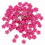 Cerise Flower Diamantes