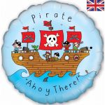Pirate Ship 18 Inch Foil Balloon