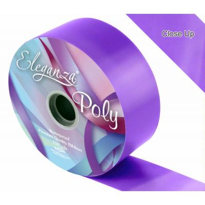 2 Inch Poly Ribbon Violet