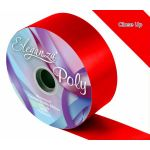 2 Inch Poly Ribbon Radiant Red