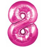 30 Inch Pink Numeral 8