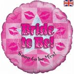 Bride To Be 18 Inch Foil Balloon