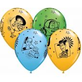  1st Birthday Boy 11 Inch Balloons (pack&nbsp;quantity&nbsp;5) 