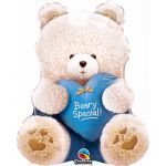 Special Boy Bear 24 Inch Foil Balloon
