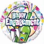 Engagment Cele 18 Inch Foil Balloon
