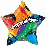 Congratulations 36 Inch Foil Balloon