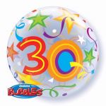 22 Inch 30th Birthday Bubble Balloon
