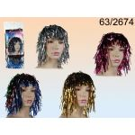 Assorted Glitter Wig