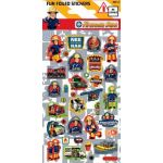 Fireman Sam Small Foil Stickers