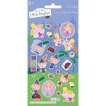 Ben And Holly Small Foil Stickers