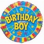 Birthday Boy 18 Inch Foil Balloon