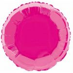 Hot Pink Round 18 Inch Foil Balloon