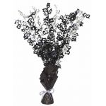 Black Glitz 13th Centerpiece