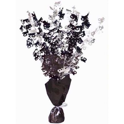 Black Glitz 16th Centerpiece