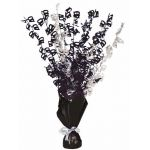 Black Glitz 40th Centerpiece