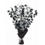 Black Glitz 50th Centerpiece