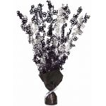 Black Glitz 90th Centerpiece