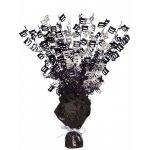 Black Glitz 100th Centerpiece