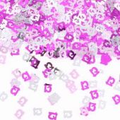 Pink Glitz 13th Confetti